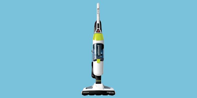 This Reviewer Favorite 2 In 1 Vacuum Doubles As A Sanitizing Steam Mop