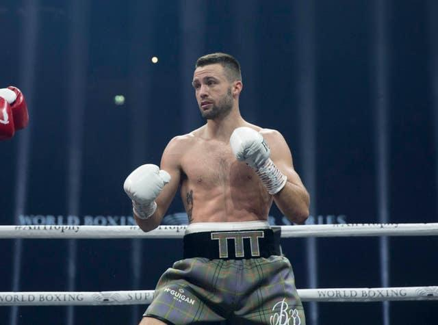 Josh Taylor has won all 17 of his professional contests and unified the light-welterweight division (Jeff Holmes/PA)