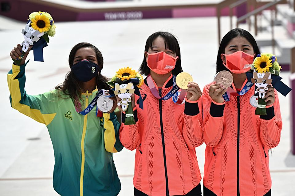 Tokyo Olympic bouquets feature flowers from important areas in Japan.