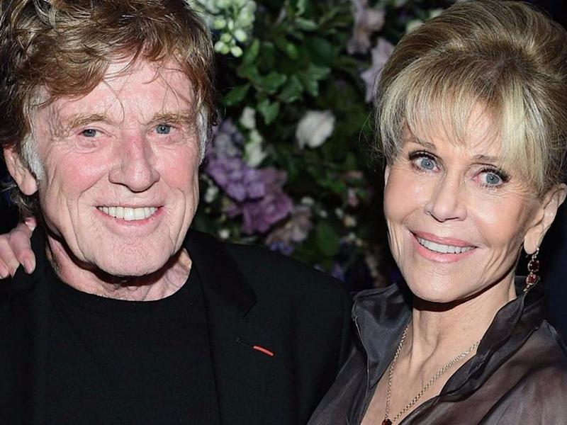 Robert Redford and Jane Fonda's new movie has an unexpected twist. Source: Getty