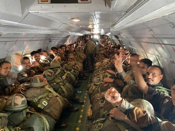 Airborne exercise by the Shatrujeet Brigade (Photo: Indian Army)