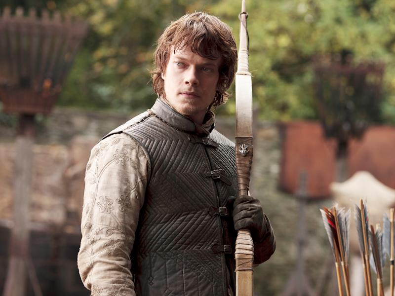 Alfie Allen as the wolf-hating Theon Greyjoy in season one of 'Game of Thrones'©2016 Home Box Office, Inc. All