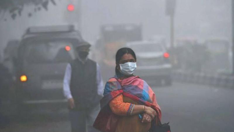 Delhi Air Pollution: AQI Dips to 'Poor' Category, Smog Engulfs NCR