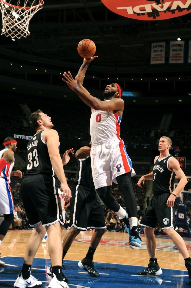 Drummond, Jennings lead Pistons over Nets 111-95
