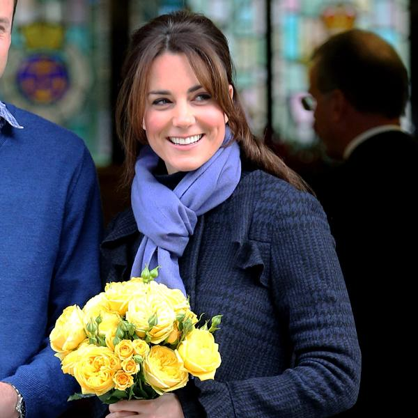<b>Kate Middleton's bangs</b> softened her look and framed her face, without being too dramatic a makeover ©Rex