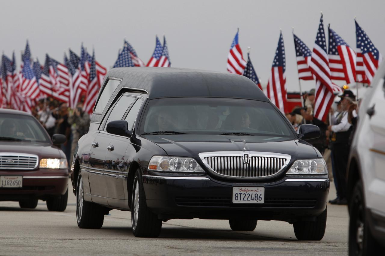 Bodies Of Two Of The Granite Mountain Hotshots Crew Killed In AZ Fire Return To Southern CA