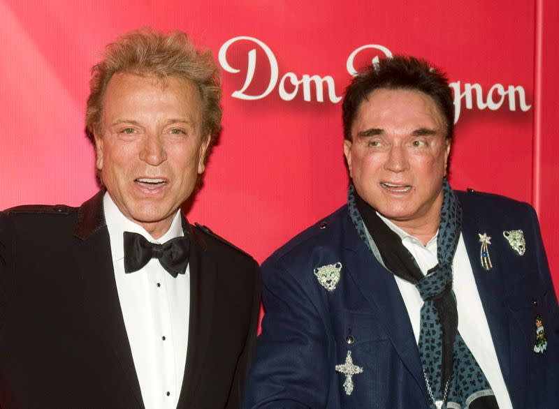 Duo Siegfried & Roy arrive for Power of Love Gala and 70th birthday celebration for Muhammad Ali in Las Vegas