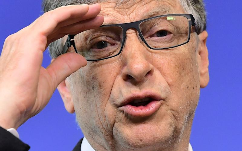 Bill Gates says governments are overlooking the threat of biological warfare - AFP or licensors