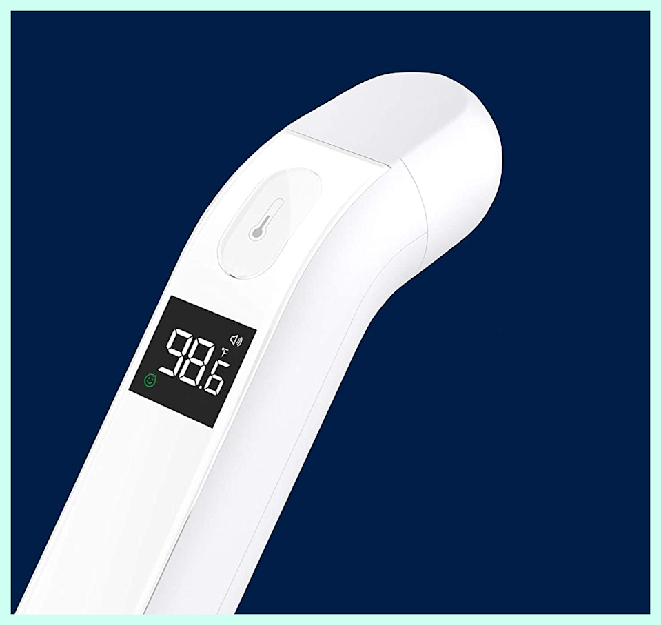 This iHealth Contactless Infrared Thermometer is on sale for 60 percent off. (Photo: Amazon)