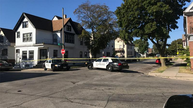 The four-year-old's charred body was found inside the Milwaukee apartment. Source: Twitter