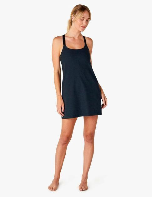 """<h2>Best Comfort<br></h2><br><h3>Beyond Yoga Spacedye Move It Dress<br></h3><br>Beyond Yoga is known for its deliciously soft fabric choices, making this dress one of the most comfortable options for chic lounging.<br><br><strong>What They're Saying:</strong> """"Absolutely in love with this! I plan to wear it all summer. Built-in bra, compression shorts, super soft fabric - so comfy and cute. What's not to love, it's like a romper and yoga pants had a baby. The only thing it's missing is pockets.""""<br><br><strong>Beyond Yoga</strong> Spacedye Move It Dress, $, available at <a href=""""https://go.skimresources.com/?id=30283X879131&url=https%3A%2F%2Fbeyondyoga.com%2Fproducts%2Fspacedye-move-it-dress-nocturnal-navy-sd6141%3Fvariant%3D32567526424675"""" rel=""""nofollow noopener"""" target=""""_blank"""" data-ylk=""""slk:Beyond Yoga"""" class=""""link rapid-noclick-resp"""">Beyond Yoga</a>"""