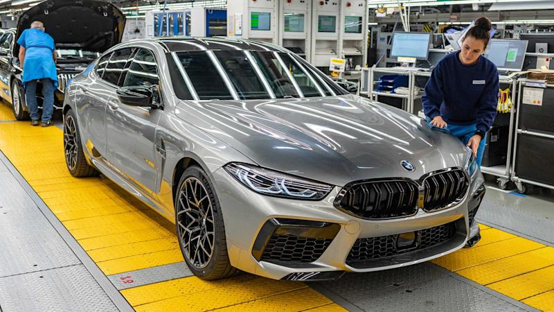 BMW M8 Gran Coupe Production Start