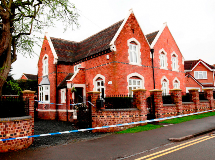 The family lived in a £392,000 property in Stourbridge (SWNS)