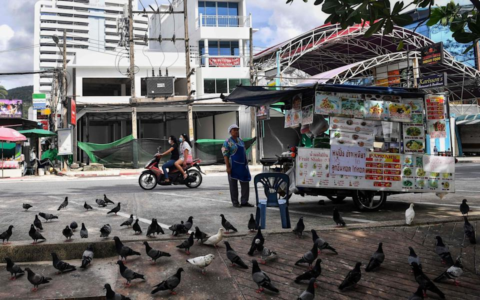 Thailand has seen its tourism industry collapse since the start of the pandemic - AFP/AFP