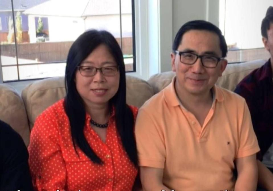 Scientists Qiu Xiangguo and husband Cheng Keding were both escorted out of Canada's National Microbiology Laboratory in July 2019. They left the lab's employment in January 2021. Photo: Rideau Hall Foundation