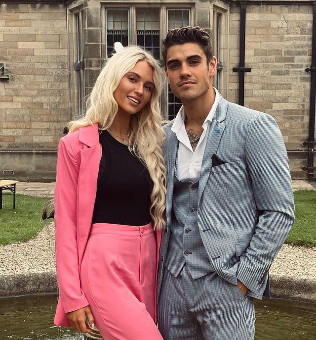 """<p><strong>Relationship status: Still together / Each other's type on paper, after getting together in 2020</strong></p><p>In July 2020, Lucie and Luke went public with their romance after he split from Demi Jones in May. While Love Island fans were thrilled to see two ex Islanders come together,<a href=""""https://www.cosmopolitan.com/uk/entertainment/a34613522/love-island-luke-mabbot-demi-jones-lucie-donlan-cheating-claims/"""" rel=""""nofollow noopener"""" target=""""_blank"""" data-ylk=""""slk:Demi wasn't so into it,"""" class=""""link rapid-noclick-resp""""> Demi wasn't so into it, </a>and posted a series of cryptic comments which were seemingly directed at the new couple. Drama.</p><p><a href=""""https://www.instagram.com/p/CS1_zgFtXOu/"""" rel=""""nofollow noopener"""" target=""""_blank"""" data-ylk=""""slk:See the original post on Instagram"""" class=""""link rapid-noclick-resp"""">See the original post on Instagram</a></p>"""