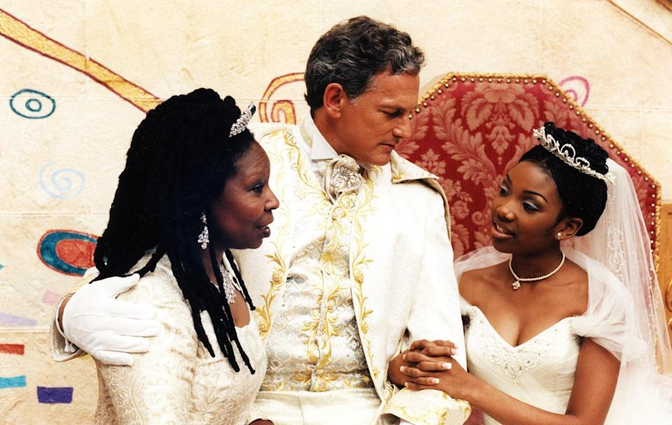 <p>This 1997 classic is <em>finally</em> available to stream to your heart's content. Starring Brandy Norwood, Whitney Houston, Whoopi Goldberg, and Victor Garber, this is an iconic version of the fairytale.</p> <p><span>Watch <strong>Cinderella</strong> on Disney+.</span></p>