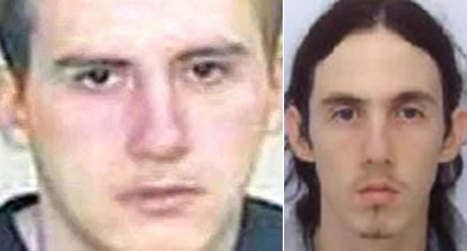 """Paul Fitzgerald, left, has been jailed for life for killing Richard Huckle, known as """"Britain's worst paedophile"""". (Reach/Reuters/NCA)"""