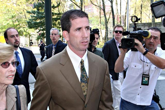 Tim Donaghy is back in the news as the NBA disputes ESPN's report that concluded he fixed games. (Getty Images)