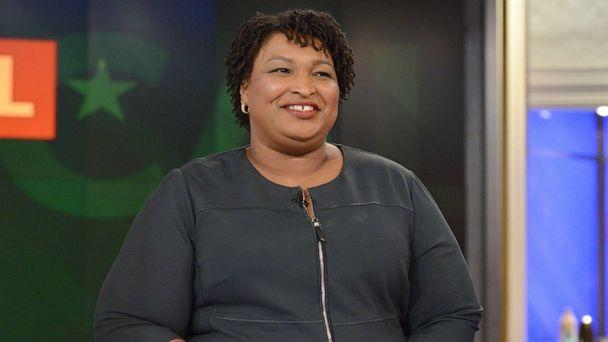 PHOTO: Stacey Abrams appears on ABC's 'The View,' Wednesday, March 27, 2019. (Lorenzo Bevilaqua/ABC)