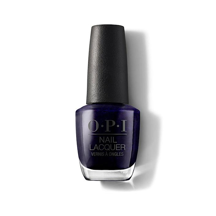"<p>In a sea of blue hues, there is one shade that stands out. Elle calls indigo — particularly the shimmering OPI Nail Lacquer in Russian Navy — a statement-making nail polish color.</p> <p><strong>$11</strong> (<a href=""https://shop-links.co/1692775577547764324"" rel=""nofollow noopener"" target=""_blank"" data-ylk=""slk:Shop Now"" class=""link rapid-noclick-resp"">Shop Now</a>)</p>"
