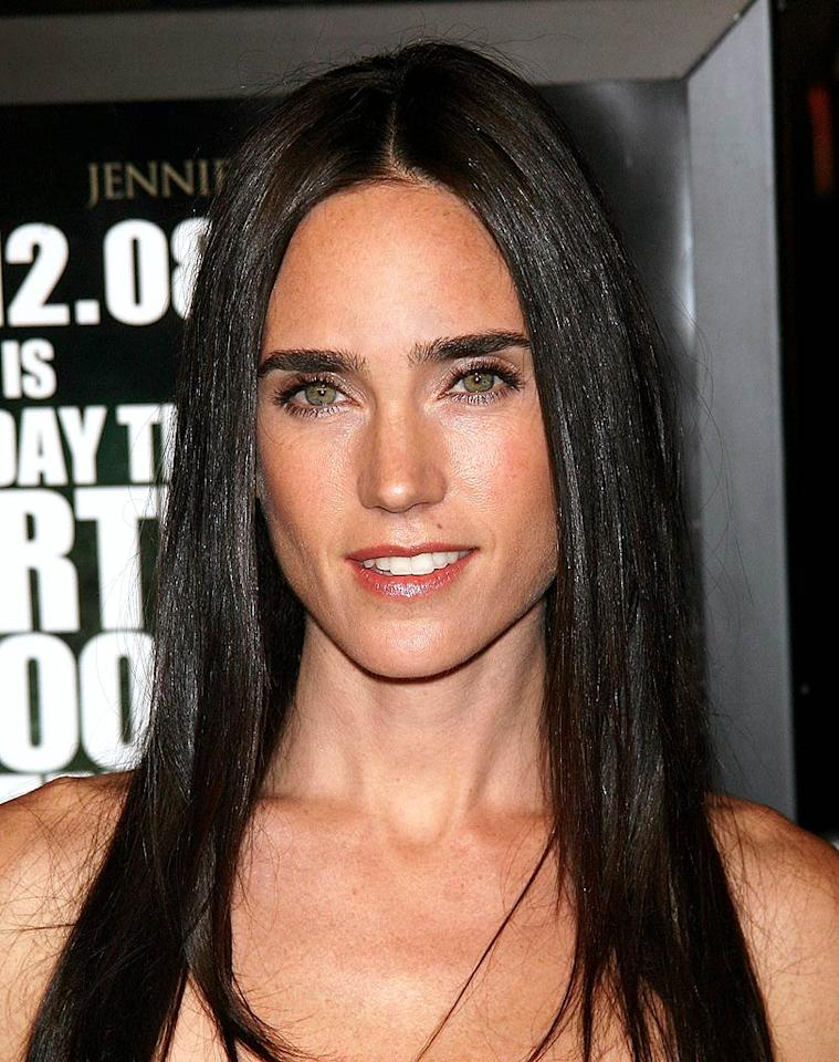 "Beauty marks (like the one Jennifer Connelly has) ... hot or not? Jim Spellman/<a href=""http://www.wireimage.com"" target=""new"">WireImage.com</a> - December 9, 2008"