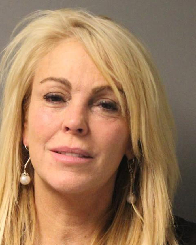 Dina Lohan, mother of actress Lindsay Lohan, charged with DWI