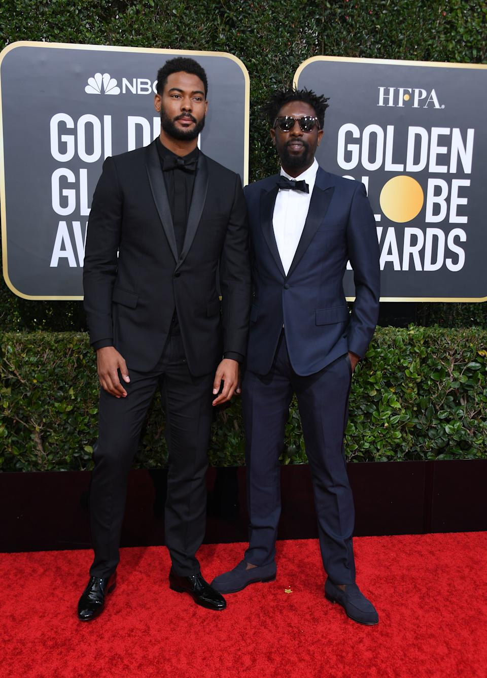 "<h1 class=""title"">Djibril Zonga and Ladj Ly, both in Dior Men</h1><cite class=""credit"">Photo: Getty Images</cite>"