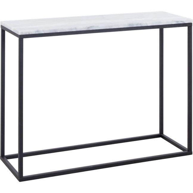 The block shop Perin 100cm Marble Console Table by Schots