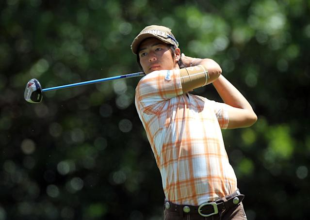 PALM HARBOR, FL - MARCH 16: Ryo Ishikawa of Japan plays a shot on the 9th hole during the second round of the Transitions Championship at Innisbrook Resort and Golf Club on March 16, 2012 in Palm Harbor, Florida. (Photo by Sam Greenwood/Getty Images)