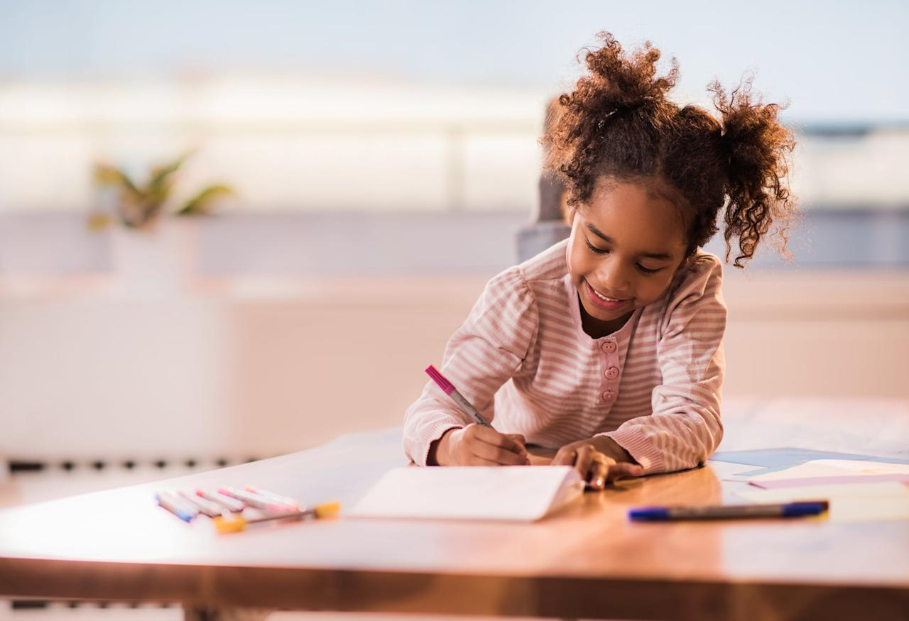 """<p>With a simple, """"Hey Google, Madlibs,"""" your child can be <a href=""""https://www.popsugar.com/family/Nostalgic-Childhood-Games-44518052"""" class=""""ga-track"""" data-ga-category=""""Related"""" data-ga-label=""""https://www.popsugar.com/family/Nostalgic-Childhood-Games-44518052"""" data-ga-action=""""In-Line Links"""">playing the game you remember from your youth</a> with your Google Assistant. She'll cheekily quip, """"Let me pretend to get a pen,"""" before setting off on a word adventure your little one is sure to love. If your kids are younger, have no fear - they can ask her what a noun or adverb is and she'll give them further instructions.</p> <p>Or, if your kid is anything like my kid, they may just love giving """"poop"""" and """"fart"""" as pretty much every answer, regardless of what Google asks for. And in the end, it all works out, because she laughs hysterically as Google repeats her """"potty words"""" throughout the story. (Bonus points: She always asks for another.)</p>"""