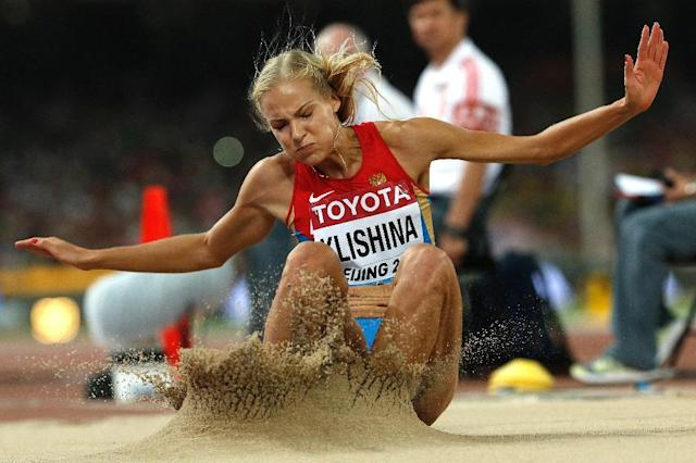 Klishina had been the only Russian track and field athlete allowed to compete at the Rio Games (AFP Photo/Adrian Dennis)