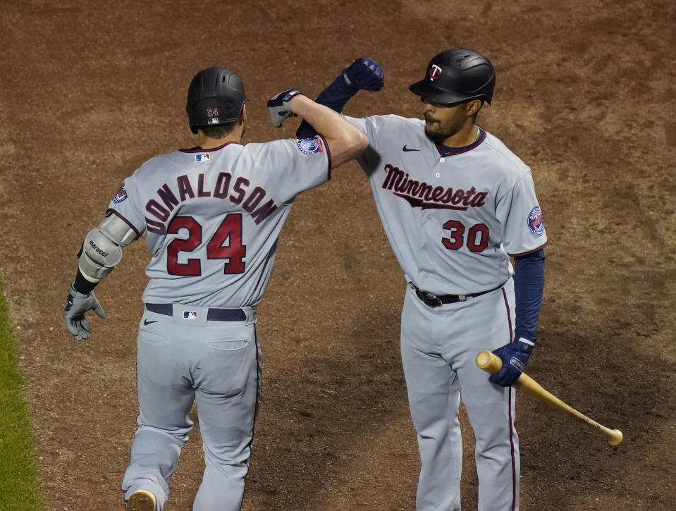 The Minnesota Twins are in the postseason for the third time in four seasons. (Photo by Nuccio DiNuzzo/Getty Images)