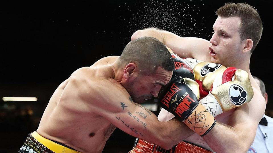 Horn never thought his fight with Mundine would be so easy. Pic: Getty