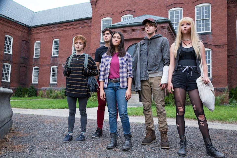 """Maisie Williams (far left), Henry Zaga, Blu Hunt, Charlie Heaton and Anya Taylor-Joy are the misfit kids with powers who have to fight their way out of a mysterious asylum in the horror thriller """"The New Mutants."""""""