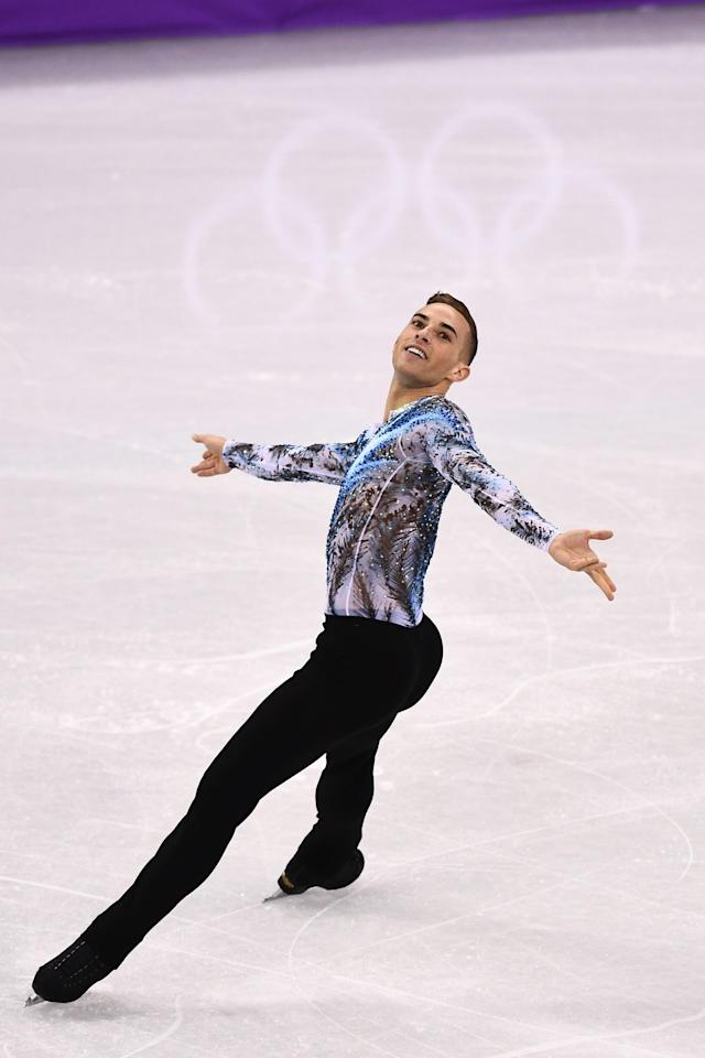 <p>Rippon is also the first openly gay American athlete to qualify for any Winter Olympics and one of three LGBTQ American athletes in South Korea. </p>