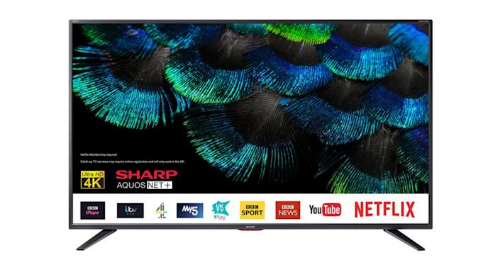 Sharp 50BJ5K 50 inch 4K Ultra HD Smart TV with Freeview Play