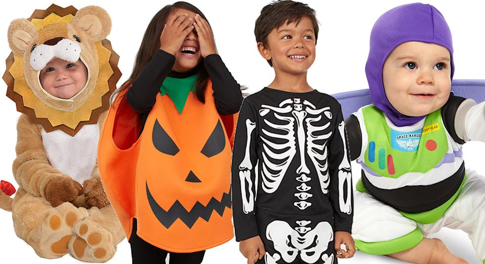 From Buzz Lightyear to pumpkins: the 2019 Halloween costumes to buy for your child or baby.