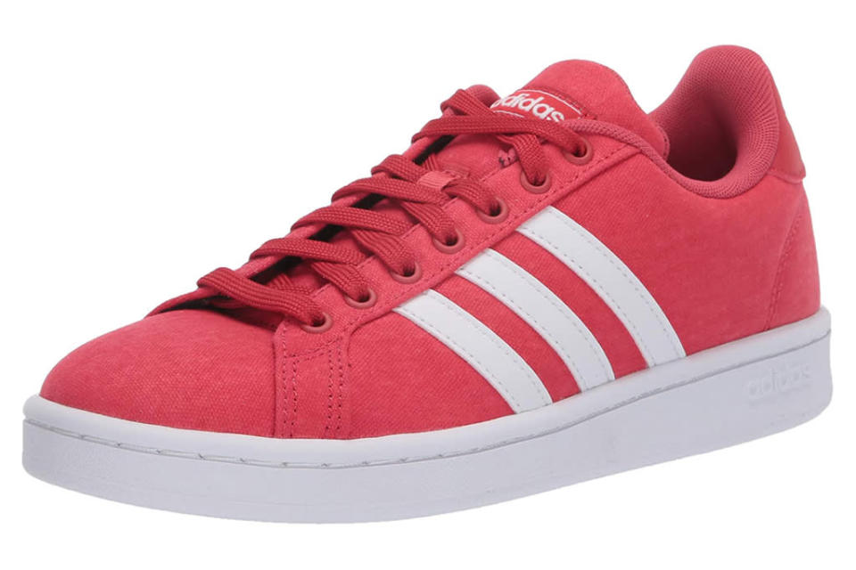adidas, red sneakers