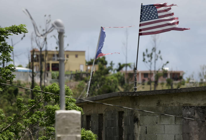 Study on hurricane casualties fuels talk of statehood for Puerto Rico. (AP)