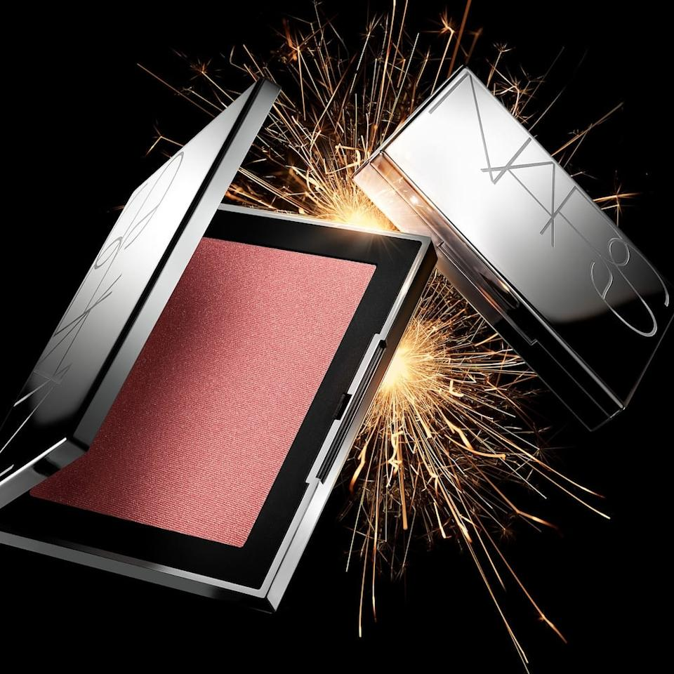 """<p>The shade of this <product href=""""https://www.sephora.com/product/nars-jumbo-orgasm-blush-P461481?skuId=2382372&amp;icid2=products%20grid:p461481:product"""" target=""""_blank"""" class=""""ga-track"""" data-ga-category=""""internal click"""" data-ga-label=""""https://www.sephora.com/product/nars-jumbo-orgasm-blush-P461481?skuId=2382372&amp;icid2=products%20grid:p461481:product"""" data-ga-action=""""body text link"""">Nars Jumbo Orgasm Blush</product> ($40) is a cult-classic, and looks great on so many skin tones.</p>"""