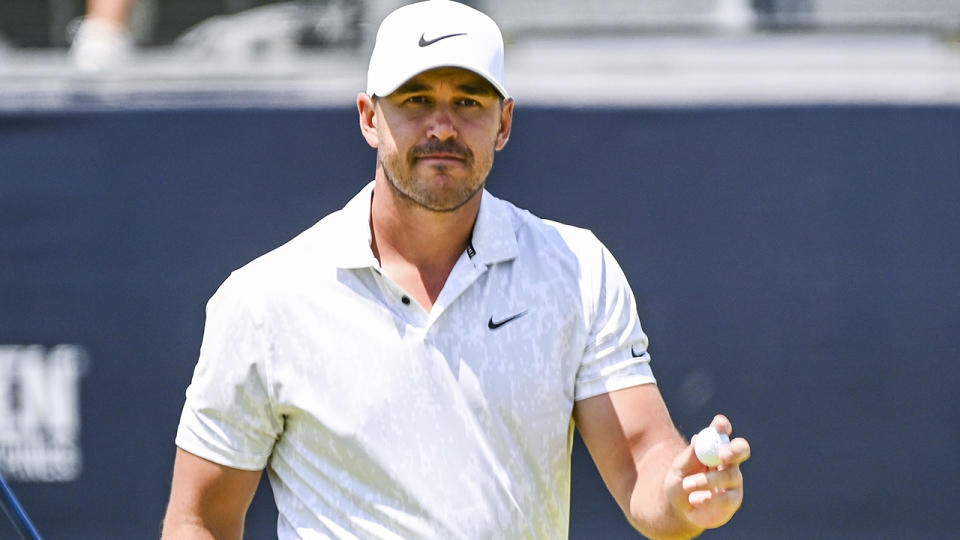 Brooks Koepka turned in an impressive opening round at the US Open. (Photo by Keyur Khamar/PGA TOUR via Getty Images)
