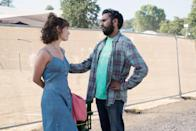 """<p>Struggling singer-songwriter Jack Malik (newcomer Himesh Patel), awakens after a bike accident to discover that the world suddenly doesn't remember the music of The Beatles . . . except for him. Directed by <strong>Slumdog Mullionaire</strong>'s Danny Boyle and written by rom-com king Richard Curtis (of <a href=""""https://www.popsugar.com/entertainment/Four-Weddings-Funeral-Red-Nose-Day-Special-Photos-45756379"""" class=""""link rapid-noclick-resp"""" rel=""""nofollow noopener"""" target=""""_blank"""" data-ylk=""""slk:Four Weddings and a Funeral""""><strong>Four Weddings and a Funeral</strong></a> and <strong>Notting Hill</strong> fame), <a href=""""https://www.popsugar.com/entertainment/What-Movie-Yesterday-About-45790133"""" class=""""link rapid-noclick-resp"""" rel=""""nofollow noopener"""" target=""""_blank"""" data-ylk=""""slk:the musical"""">the musical</a> follows Jack as he does what any other sane wannabe rock star would do when a pot of gold lands in their lap - he passes the songs off as his own. </p>"""