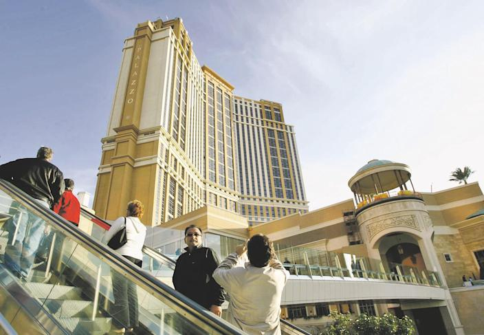 Las Vegas Sands Corp. owns properties including The Venetian and The Palazzo.