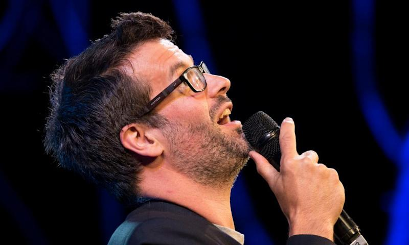 Marcus Brigstocke has had audience members walk out during his tour.