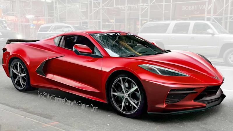 Mid-Engined Chevrolet Corvette Rendering By FVS