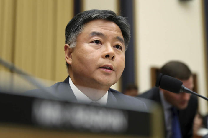 """Requiring paper ballots is not a Democratic or Republican issue,"" said Rep. Ted Lieu. ""It's just a better election security issue."""