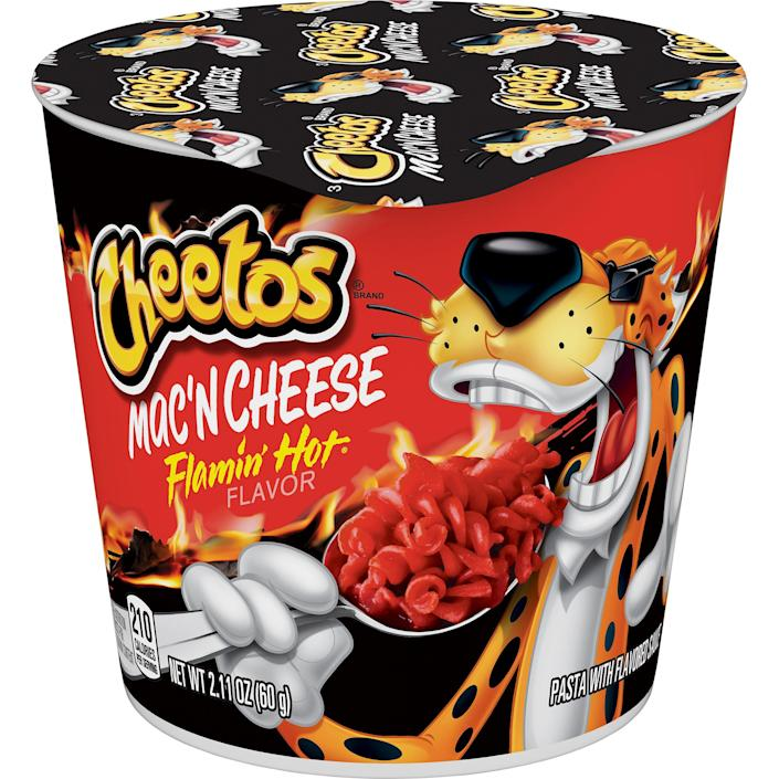 You can find the product in Walmart exclusively starting August 8. (Cheetos)