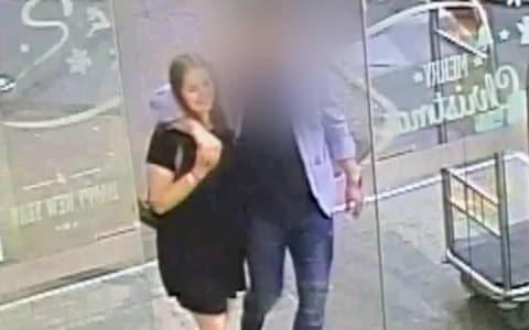 <span>CCTV footage of backpacker Grace Millane with her Tinder date before she died</span>