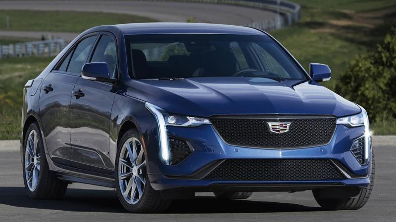 sporty 2020 cadillac ct4-v joins luxury lineup